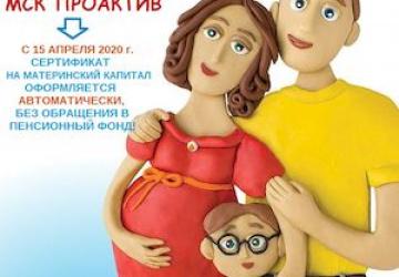 Материнский капитал за первого ребёнка получили больше 3 200 семей региона